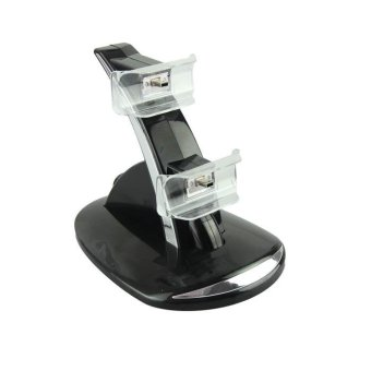 Dual Controller Charger Dock Station Stand Charging For Playstation3 PS3 - intl