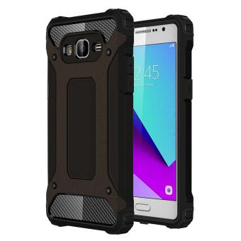 Dual Layer Case for Samsung Galaxy J2 Prime Hybrid TPU PC HeavyDuty Armor Shock Absorbing Protective Cover Black Price Philippines