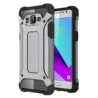 Dual Layer Case For Samsung Galaxy J2 Prime Hybrid TPU PC HeavyDuty Armor Shock Absorbing Protective Cover Grey Price Philippines