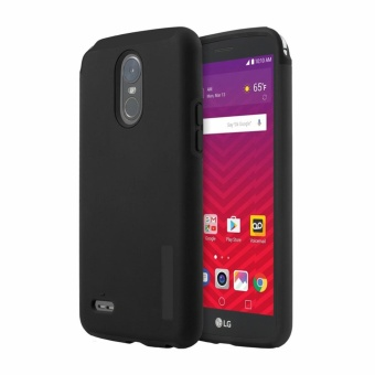 Dual Pro Shockproof Case for LG Stylus 3 (Black)