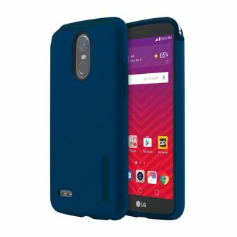 Dual Pro Shockproof Case for LG Stylus 3 (Blue)