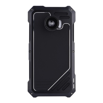 Dust/Shock/Waterproof Metal Case Cover+Camera Lens For SamsungGalaxy S7 edge Black - intl - 3