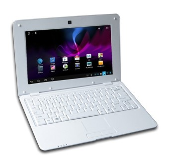 DWO Netbook 10.1inch Android 4.2 Wifi VIA 8880 512MB RAM 4G mini laptop HDMI Output Camera 0.3M (White) (Intl)