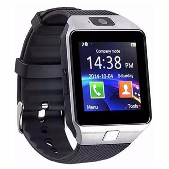 DZ09 Quad Phone Bluetooth Touch Screen Smart Watch (Silver)SET OF 2 - 2