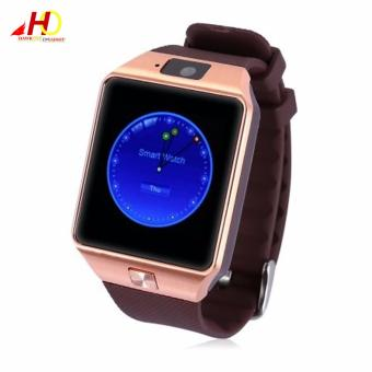 DZ09 Smart Watch Phone Bluetooth Touch Screen (Rose Gold)