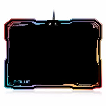 E - 3LUE Mouse Pad Mousepad with RGB Lighting - intl Price Philippines