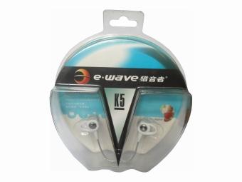 E-wave K5 Earphones (White) - picture 2