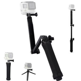 Ebuy yu Universal Waterproof 3-Ways Monopod For Action cam GoProHero 4/2/3/3+/SJCAM SJ4000/Xiaoyi - 4