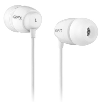 Edifier H210 Stereo Headset In-ear Music Earphone with Mic&control Universal (white )