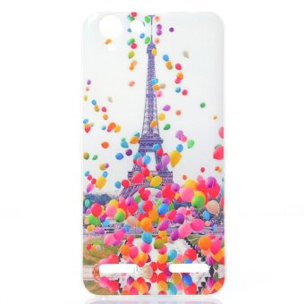 Eiffel Tower and Colorized Balloon Soft IMD TPU Shell Cover forLenovo Vibe K5 Plus / Vibe K5 - intl