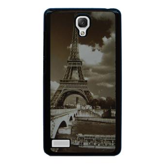 Eiffel Tower Case for Xiaomi Redmi Note (Black)