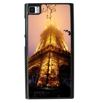 Eiffel Tower Pattern Phone Case for Xiaomi Mi3 (Black) - picture 2