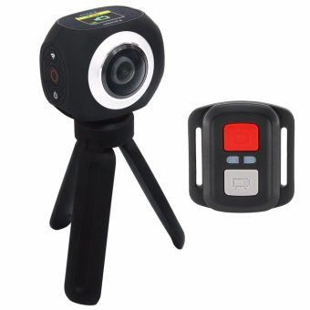 EKEN Pano360 2.4G Remote Splash proof 360? Panoramic Camera (Black)