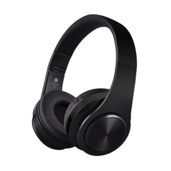 EKLEVA Stereo Wireless Bluetooth Headphone with Mic for Phone Tv Laptop Over Ear Earphone Noise Cancelling Headset for Running Sport - intl