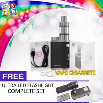 Eleaf iStick Pico 75W Starter Kit Vape Cigarette ( Black) with FREE LED Flashlight