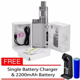 Eleaf iStick Pico 75W Starter Kit Vape E-Cigarette (Silver) WithFree Battery Charger/ Battery