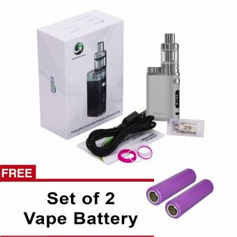Eleaf Istick Pico Starter Kit Cigarette 75W (Silver) With Free 2pc.Vape Battery
