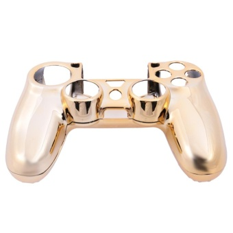 Electroplated Protective Case for PlayStation 4 ControllerGamepad(Gold) - intl