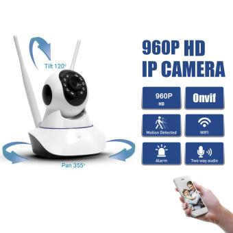 Email Alarm Security HD 960P H.264 IP Camera P2P Pan Tilt IR Cut WiFi Wireless Network IP Security Camera Spy Kamera PTZ Night Vision - intl