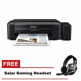 Epson L310 Single Function Printer with Free Gaming Headset