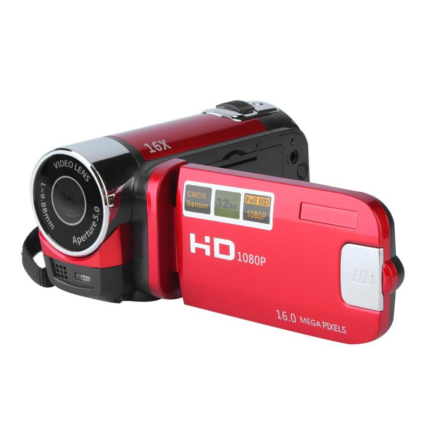 ERA 2.7 inch TFT LCD HD 720P 16x Zoom Digital Video DV CameraCamcorder Red