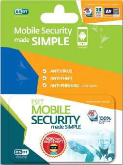 ESET Mobile Security 1 Year 1 Android Device Scratch Card Price Philippines