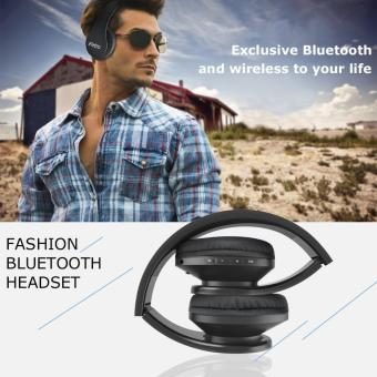 Esogoal Wireless Bluetooth Headphone Foldable Headset Noise Isolation Over Ear Earphone with Mic, (Black) - intl - 3