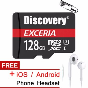 Compare Prices EXCERIA 128GB microSDXC(TM) Memory Card Class 10 forSamsung?Huawei?Xiaomi Smartphone + Free iOS/Android Phone Headset .(ORIGINAL) - intl and ...