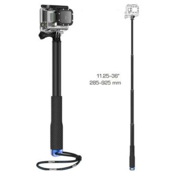 Extendable Self Selfie Stick 36 inch Handheld Monopod Dive Since for SP POV Pole for Gopro Hero 4 3+ 3 2 sj4000 - intl