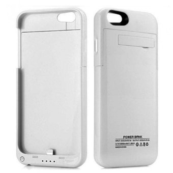 External Battery Case for iPhone 6 Plus/6s Plus 3200mAH (White)