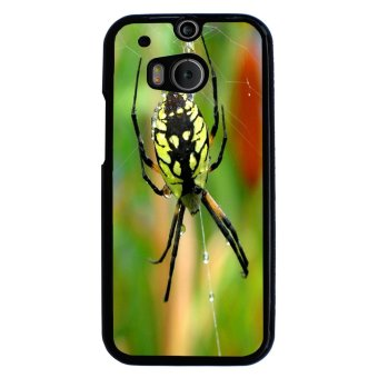 Extraterrestrial Pattern Phone Case for HTC One M8 (Black)