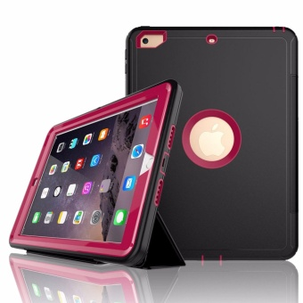 "Extreme Hybrid Shockproof Case for Apple iPad 2017 (9.7"") (Black/Pink) Price Philippines"