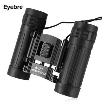Eyebre 8X21 100M / 1000M Compact Binocular Outdoor Folding Power-view Roof Prism Telescope - intl Price Philippines