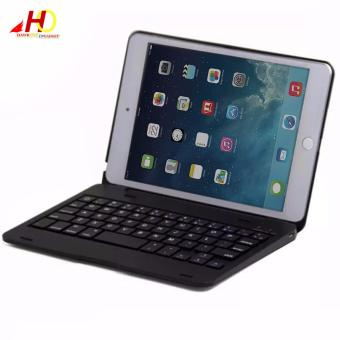 F1 Bluetooth Keyboard Case for iPad Mini 1/2/3 (Black)