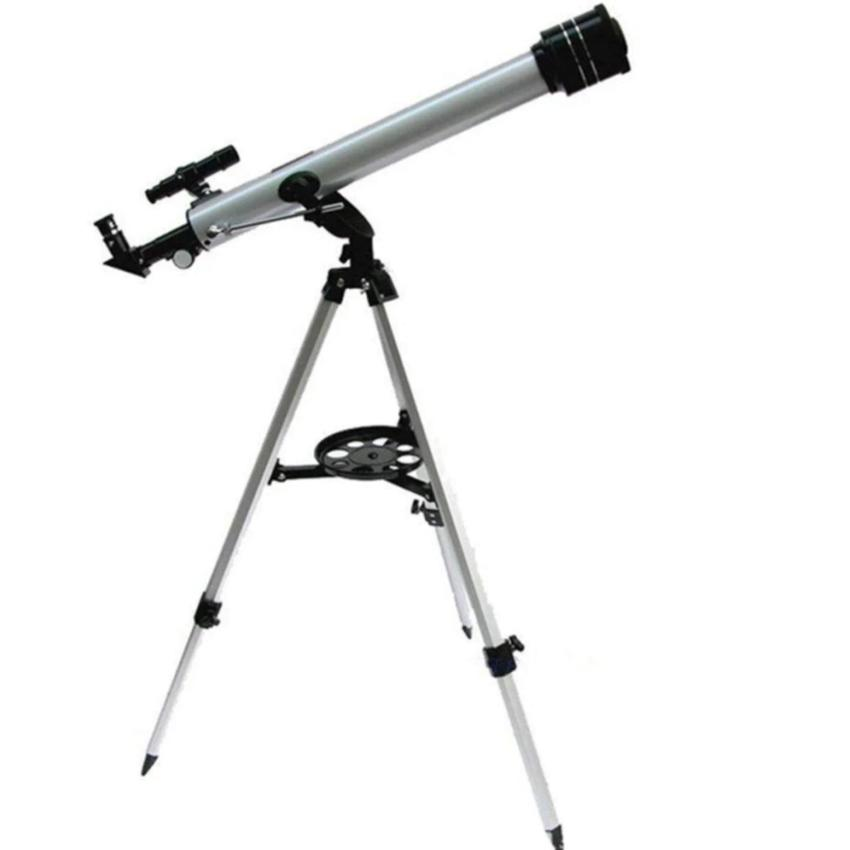 F70060 Refractive 525 X Zoom Astronomical Telescope (700/60mm) Monocular Telescope for Astronomical Observation With 360 Degree Adjustable Aluminum Tripod