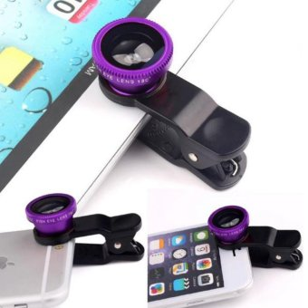 FA 3-in-1 Macro/Fish-eye/Wide Clip Lens for Mobile Phone andTablets - 2