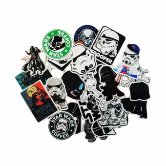 Fancyqube 25pcs Skateboard Stickers Graffiti Laptop Sticker LuggageCar Decals Mix 97k - intl Price Philippines