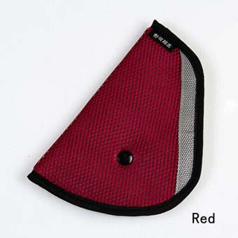 Fancyqube Child Car Seat Belt Holder Triangle CAR-0175 Red Price Philippines