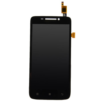 Fancytoy Black Full LCD Display + Touch Screen Digitizer Assembly For Lenovo S650 - intl