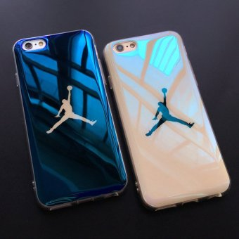 Fashion Michael SuperNBA Jordan 23 Chicago TPU soft Blu-ray laserUltra Thin Back Cover case for iPhone 7 4.7 '' - intl - 4