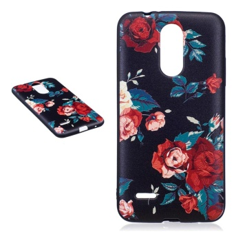 "Fashion Pattern Slim Protective Skin Soft TPU Cover Buffer phonecase for LG K8 (2017) 5.0"" - intl Price Philippines"