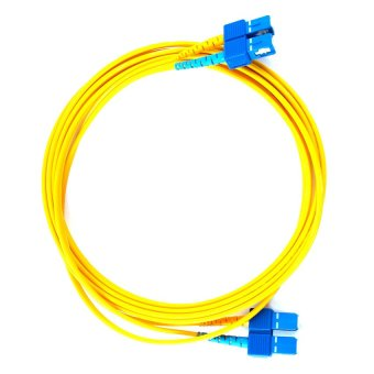 Fiber-Rex Single Mode 3 Meter Fiber Patch Cord Cable-SC/SC(Yellow)