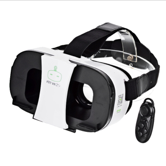FiiT VR 2s Virtual Reality Glasses + Bluetooth Controller - White -intl Price Philippines