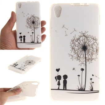 Fit Soft TPU Phone Back Case Cover For Lenovo S850 (DandelionLover) - intl