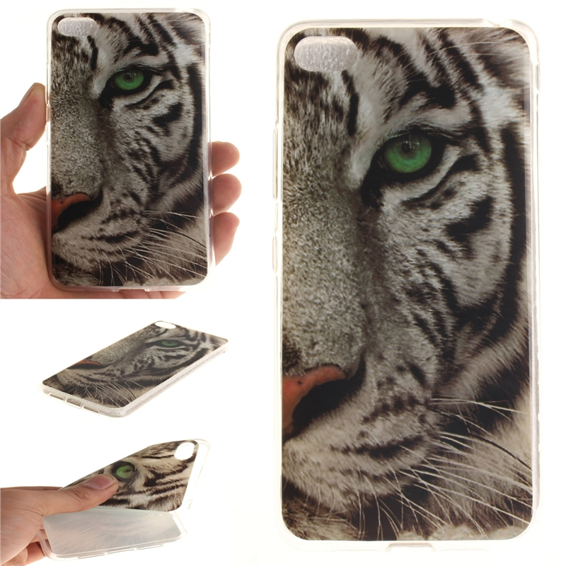 ... Fit Soft TPU Phone Back Case Cover For Lenovo S90 Sisley S90T Tiger
