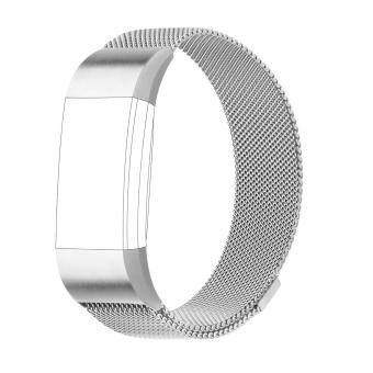 Fitbit Charge 2 Milanese Stainless Replacement Band