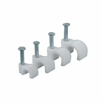 Flat Square White Clamps Holder Wire 8mm Price Philippines