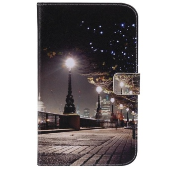 Flip Case [with Sleep / Wake Function] for Samsung Galaxy Tab 3 7.0SM-T210 / T211 (Cityscape) - intl