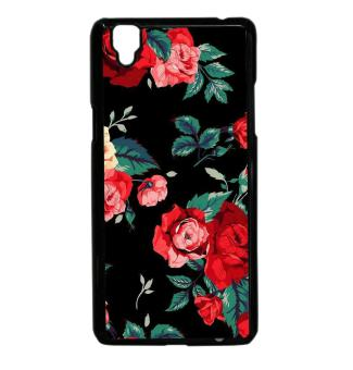 Floral Black Beautiful Design Case For Oppo F1