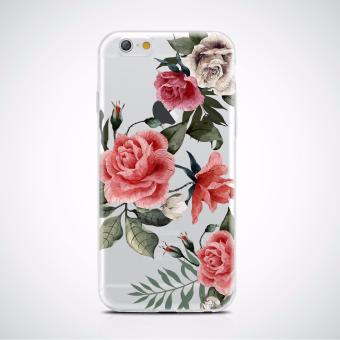 Floral high quality Printed soft tpu case for iPhone 6/6s